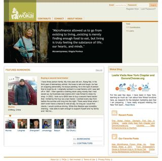 Wokai homepage
