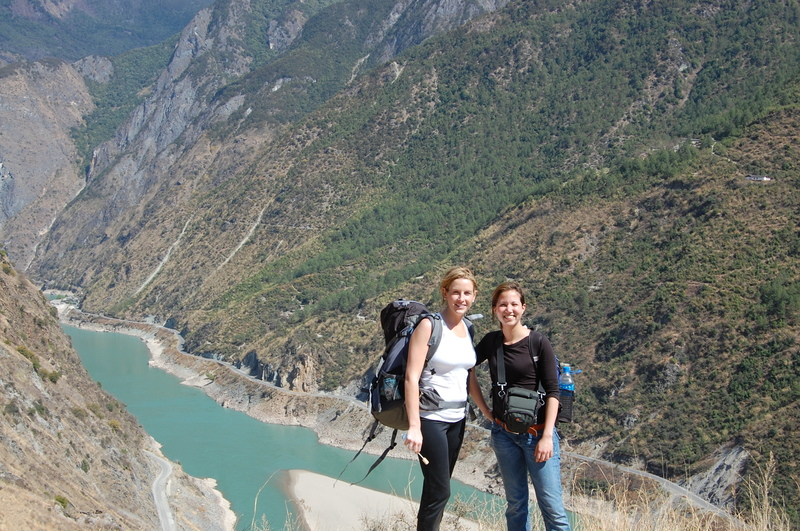 Casey and courtney backpacking