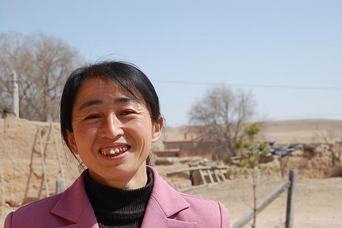 Herdswoman in Ningxia