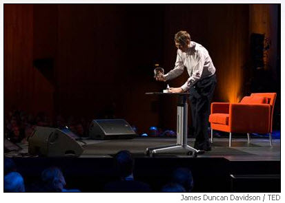 Bill gates unleashes mosquitoes at TED